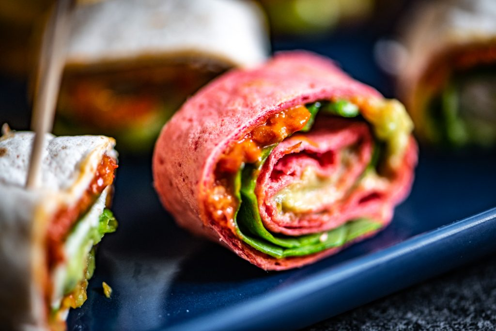 vegan wrap rolletjes