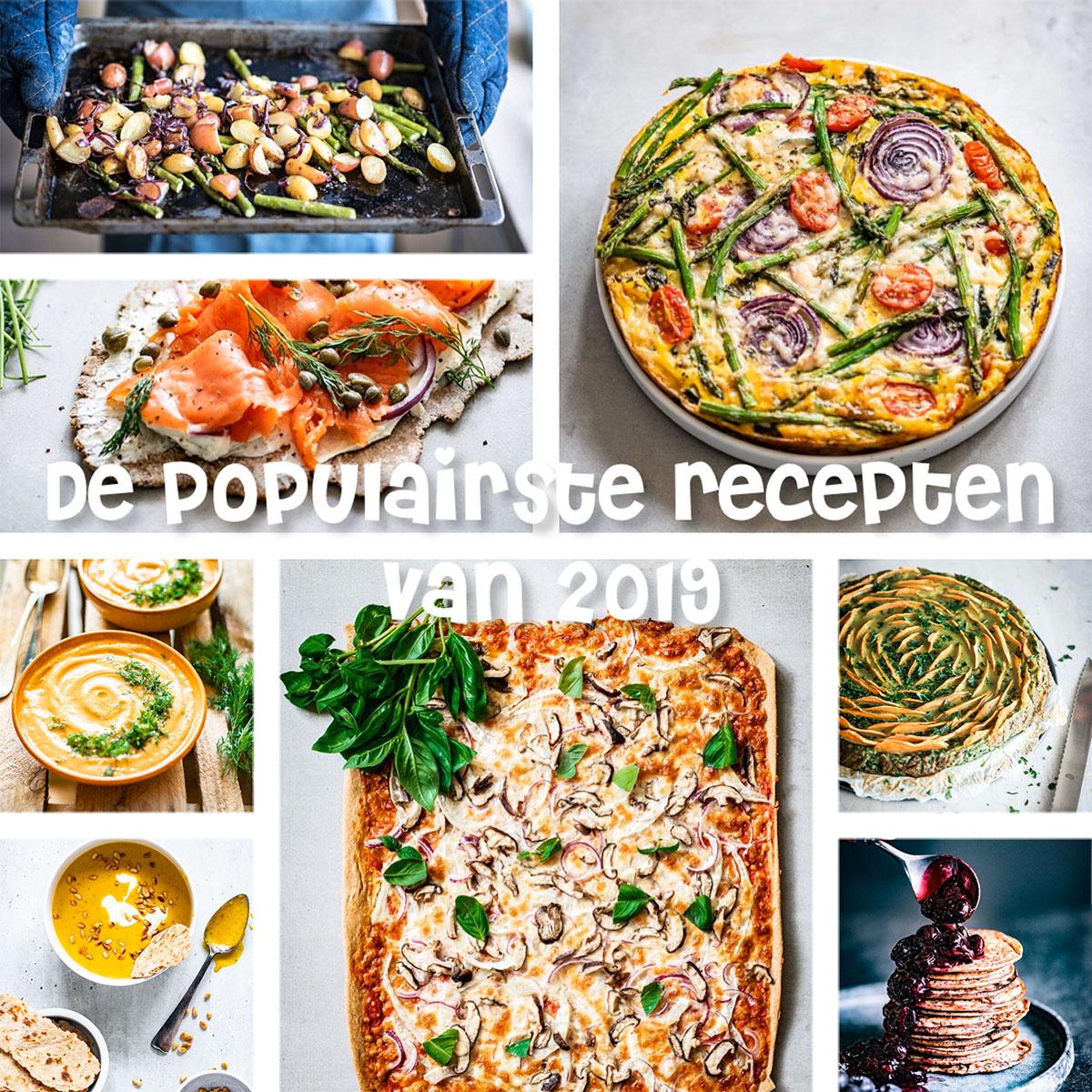 25 populairste recepten van 2019