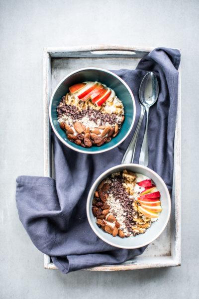 simpel vegan ontbijt