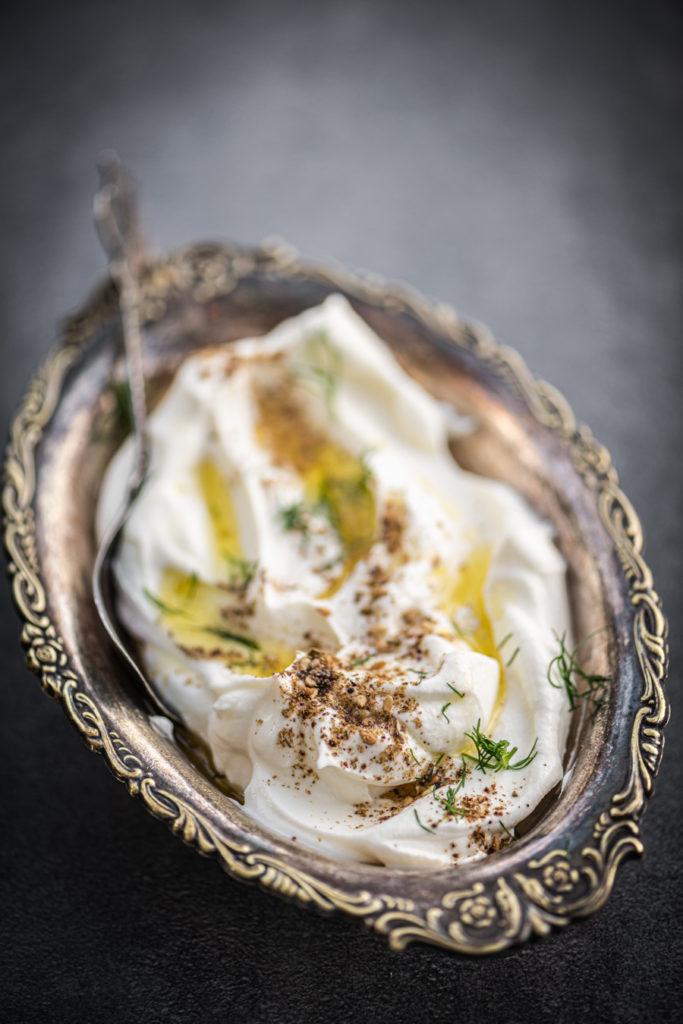 Griekse yoghurt met za'atar