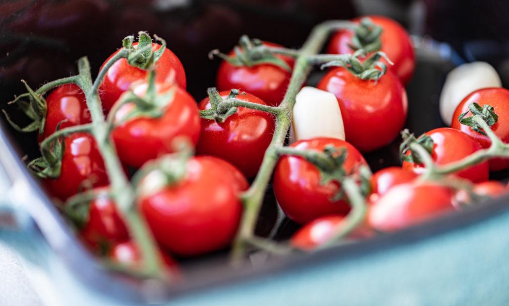 tomaatjes roosteren in de oven