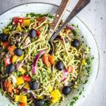 vegan spaghetti recept
