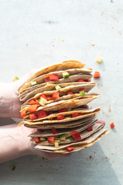 simpele quesadilla's